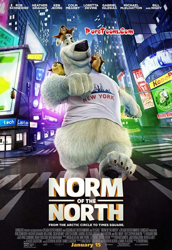 Norm of the North (2016) in Hindi Dubbed Full Movie free Download Mp4 & 3Gp