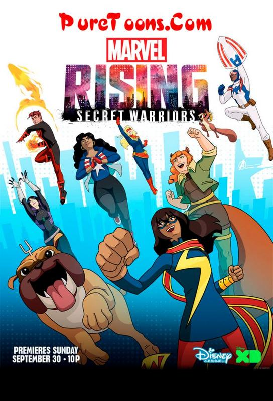 Marvel Rising: Secret Warriors (2018) in Hindi Dubbed Full Movie free Download Mp4 & 3Gp