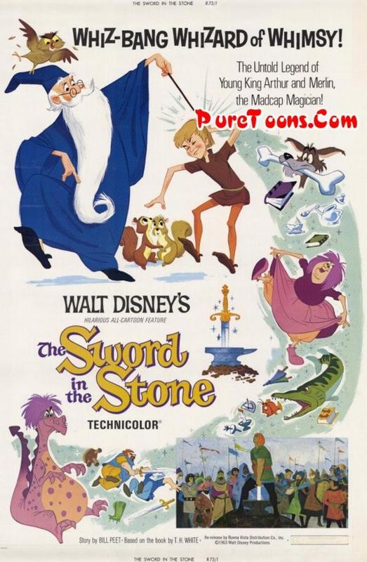 The Sword in the Stone (1963) in Hindi Dubbed Full Movie Free Download Mp4 480p, 360p, 720p HEVC