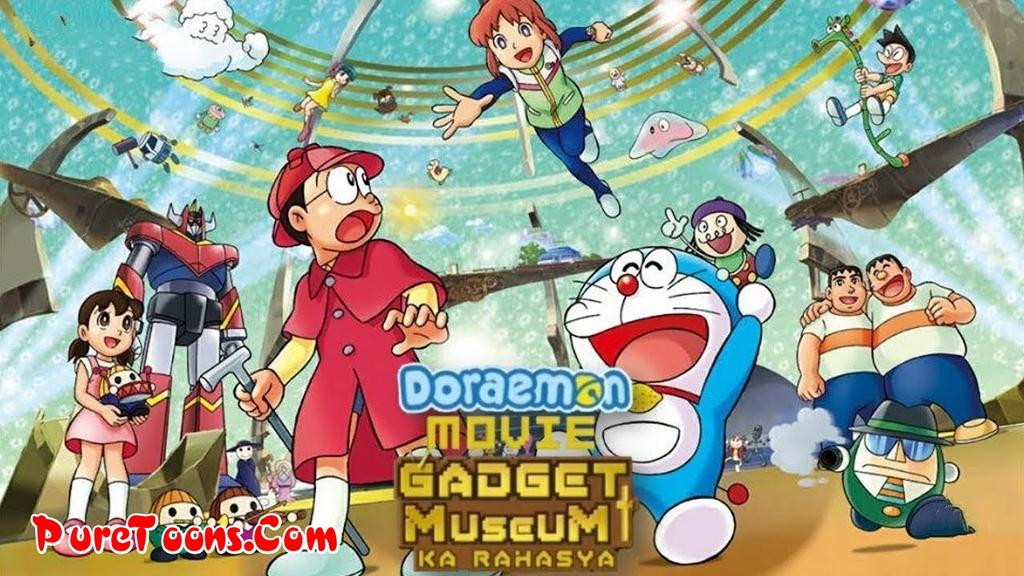 Doraemon The Movie: Gadget Museum Ka Rahasya in Hindi Dubbed Full Movie free Download Mp4 & 3Gp