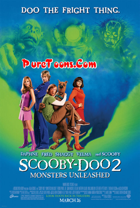Scooby Doo 2 Monsters Unleashed Live Action Full Movie in Hindi Dubbed Free Download Mp4 & 3Gp