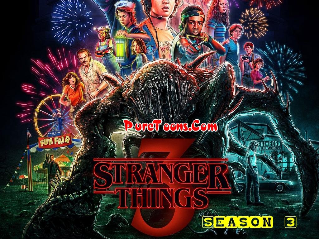 Stranger Things Season 3 in Hindi Dubbed ALL Episodes free Download Mp4 & 3Gp
