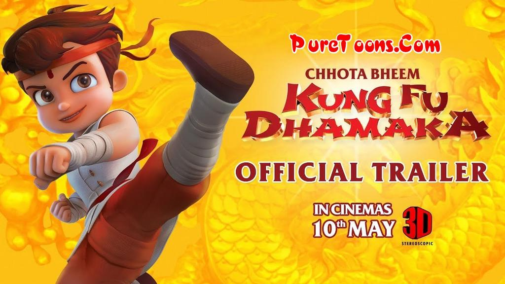 Chhota Bheem Kung Fu Dhamaka in Hindi Full Movie Free Download 360p, 480p, 720p HEVC, 240p
