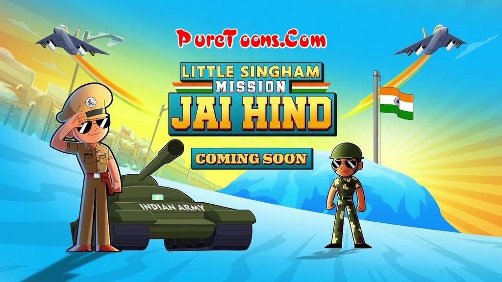 Little Singham Mission Jai Hind in Hindi Full Movie Free Download Mp4 & 3Gp