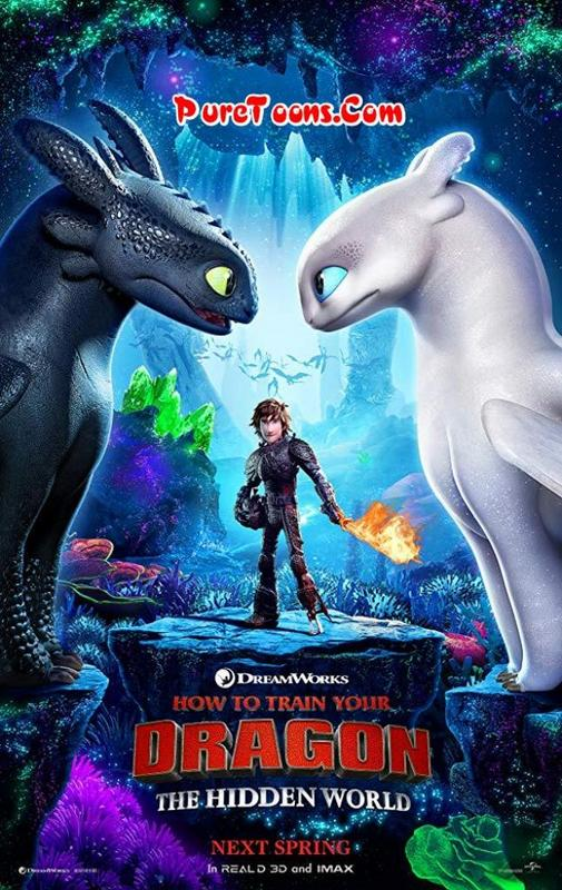 How to Train Your Dragon 3: The Hidden World in Hindi Dubbed Full Movie Free Download Mp4 & 3Gp