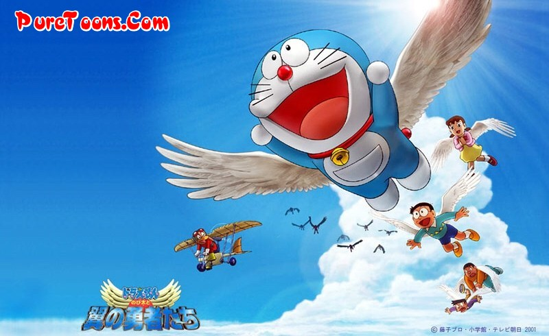 Doraemon The Movie Nobita Aur Birdopia Ka Sultan (2001) in Hindi Dubbed Full Movie Free Download Mp4 & 3Gp