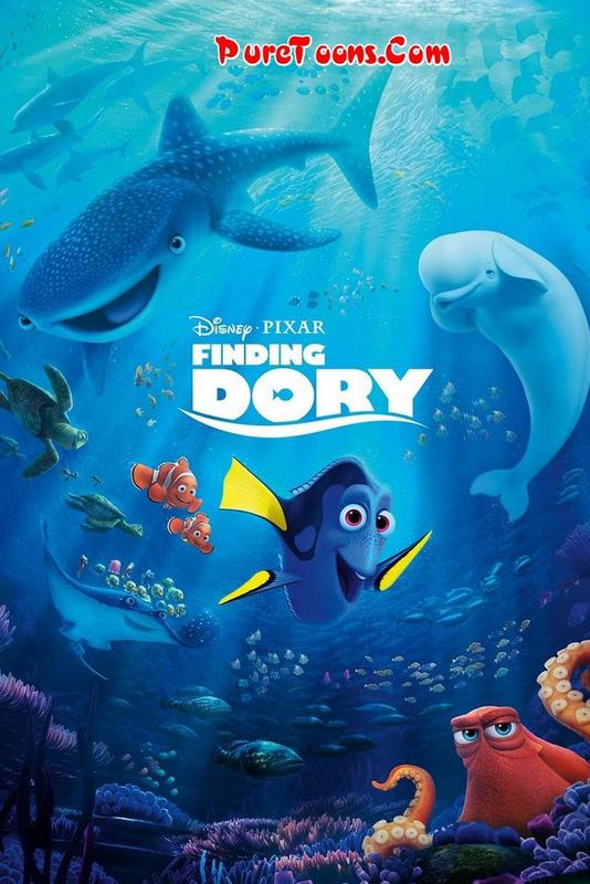 Finding Dory (2016) in Hindi Dubbed Full Movie Free Download 720p HEVC, 480p, 360p