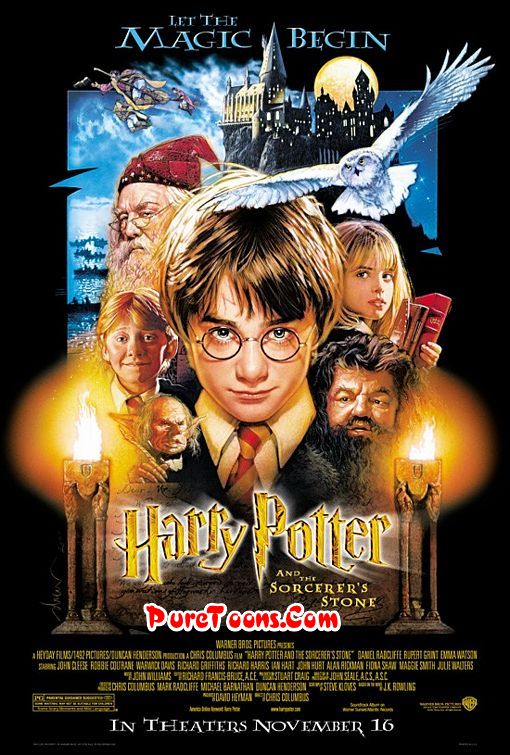 Harry Potter and the Sorcerer's Stone (2001) in Hindi Dubbed Full Movie Free Download Mp4 & 3Gp
