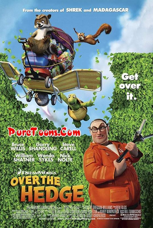 Over the Hedge (2006) in Hindi Dubbed Full Movie Free Download Mp4 480p, 360p, 720p HEVC