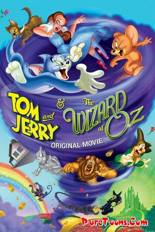 Tom and Jerry & The Wizard of Oz in Hindi Dubbed full Movie free Download Mp4 & 3Gp