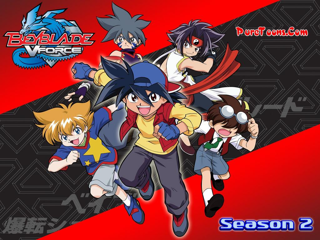 Beyblade Season 2 V-Force in Hindi Dubbed ALL Episodes Free Download Mp4 & 3Gp