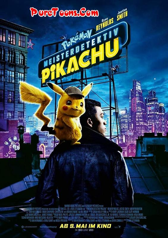 Pokemon Detective Pikachu Hindi Dubbed Full Movie Bluray Free