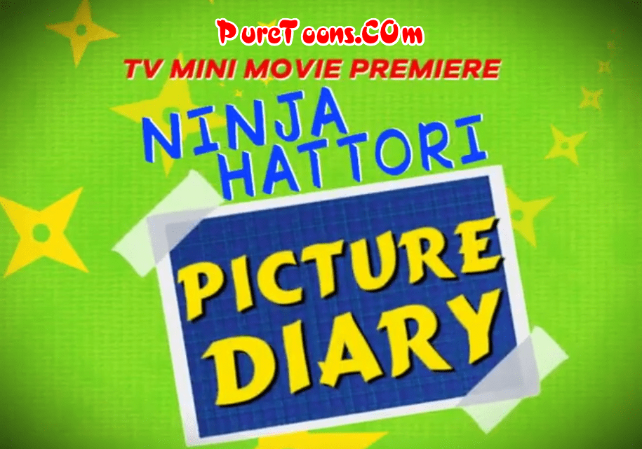 Ninja Hattori Picture Diary in Hindi Dubbed Full Movie Free Download Mp4 & 3Gp