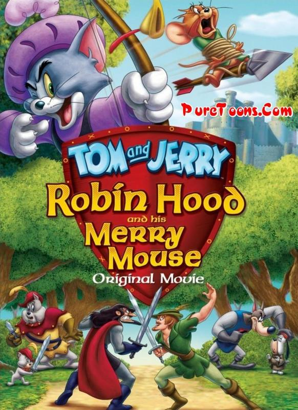 Tom and Jerry: Robin Hood and His Merry Mouse in Hindi Dubbed FULL Movie free Download Mp4 & 3Gp