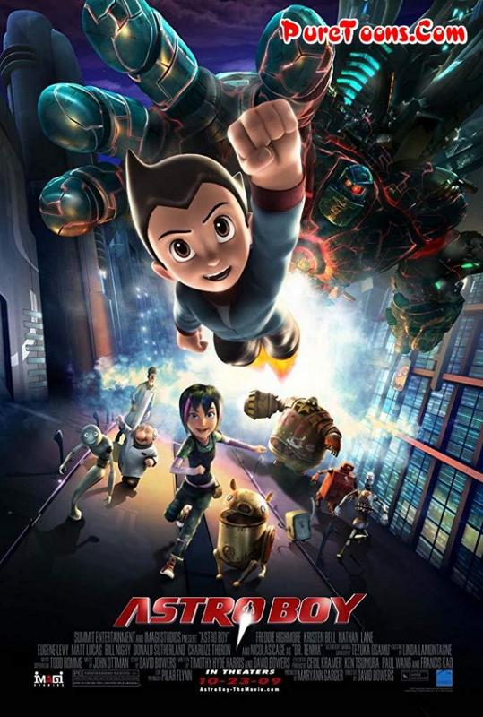 Astro Boy (2009) in Hindi Dubbed Full Movie Free Download 360p, 480p, 720p HEVC