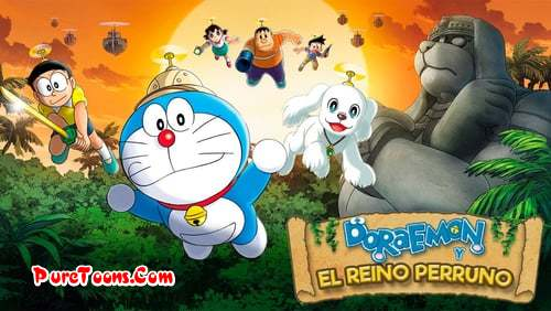 Doraemon The Movie Nobita The Explorer Bow! Bow! in Hindi Dubbed Full Movie free Download Mp4 & 3Gp