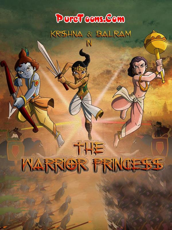 Krishna Balram in The Warrior Princess Hindi Full Movie Free Download 360p, 480p, HEVC 720p