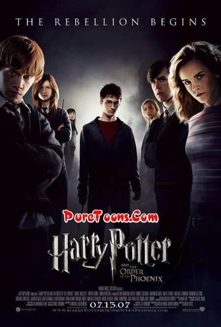 Harry Potter and the Order of the Phoenix (2007) in Hindi Dubbed Full Movie Free Download Mp4 & 3Gp