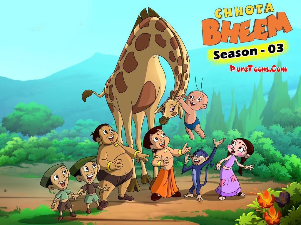 Chhota Bheem Season 3 in Hindi ALL Episodes Free Download Mp4 & 3Gp