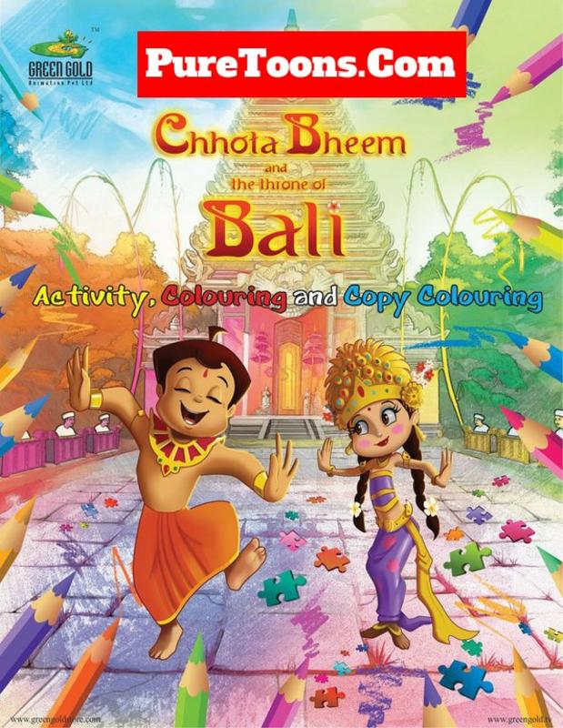 Chhota Bheem and the Throne of Bali Hindi full Movie free Download Mp4 & 3Gp