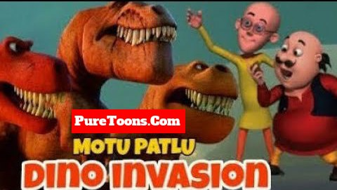 Motu patlu Dino Invasion Hindi Full Movie free Download Mp4 & 3Gp