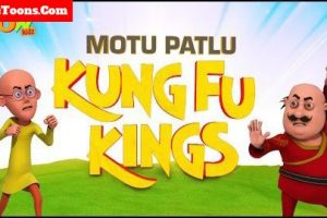 Motu Patlu Kung Fu Kings in Hindi Full Movie Free Download Mp4 & 3Gp