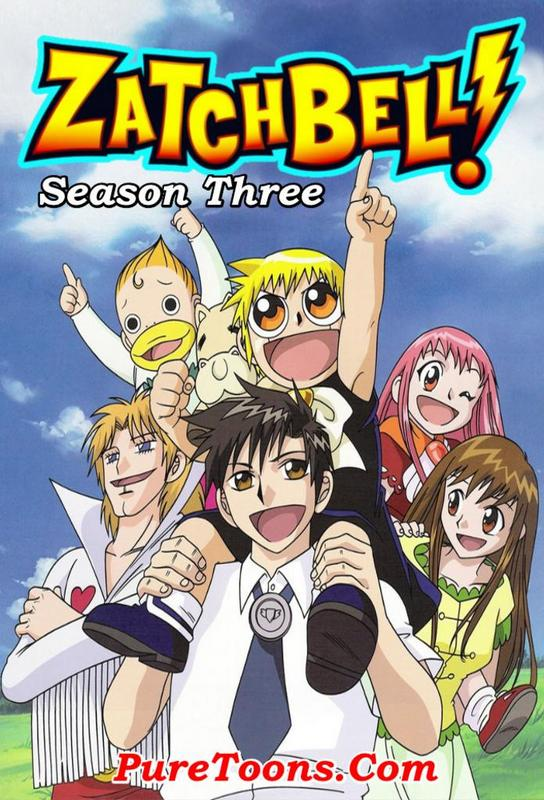 Zatch Bell Season 3 in Hindi Dubbed ALL Episodes Free Download Mp4 & 3Gp