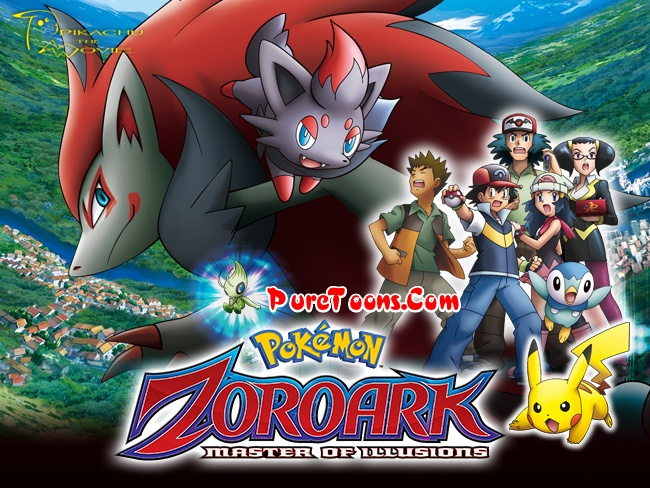 Pokemon Movie 13 Zoroark Master Of Illusions 2010 In Hindi